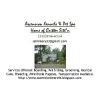 Ascension Kennels & Pet Spa Home Of Critter Sitt'n