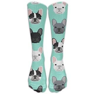 French Bulldog Dog Puppy Dog Athletic Tube Stockings Women Men Sport Long Sock