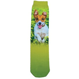 Jack Russell Terrier Sublimated Socks