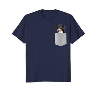 Dog in Your Pocket Entlebucher Sennenhund T-shirt