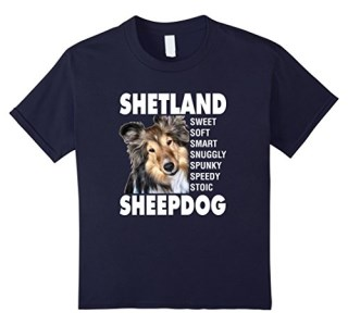 Shetland Sheepdog Sheltie T-Shirt Sable