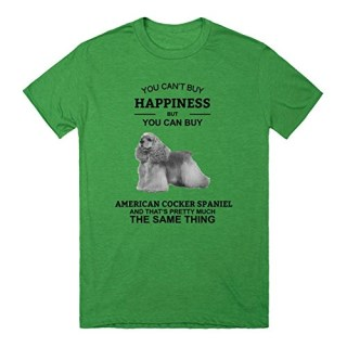 You Can't Buy Happiness But You Can Buy American Cocker Spaniel T-Shirt | T-Shirt