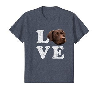 I Love My Chocolate Lab T-Shirt | Labrador Retriever Dog Tee