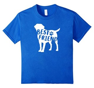 Best Friend Labrador Retriever T-Shirt - Lab Dog Breed