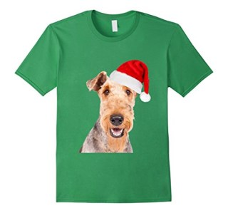 Airedale Terriers T-shirt Funny Christmas Gifts