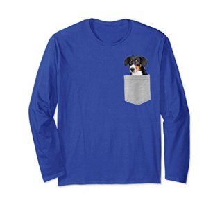 Dog Your Pocket Entlebucher Sennenhund Longsleeved T-shirt
