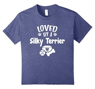 Love Silky Terriers Cute Dog T-shirt for Women Men
