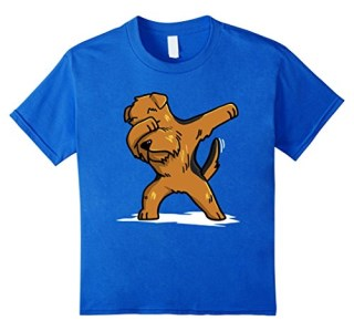 Dabbing Airedale Terrier Pet T-Shirt Dab Dance Gift Shirt