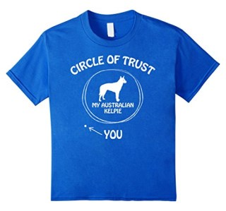 Circle of Trust Australian Kelpie Funny T-shirts for Dog lov