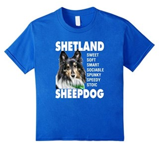 Shetland Sheepdog Sheltie T-Shirt Tricolor